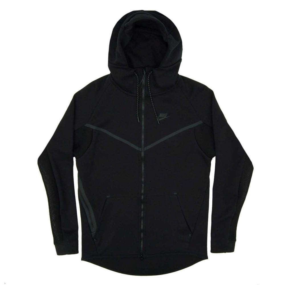 nike tech fleece windrunner hero jacket black mens. Black Bedroom Furniture Sets. Home Design Ideas