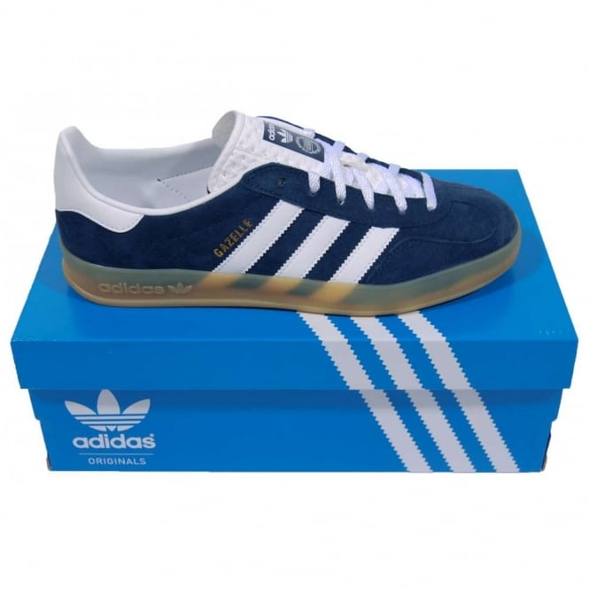 adidas gazelle indoor blue and yellow