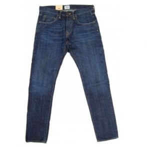 Edwin ED-55 Jeans Red Selvedge Burner Wash