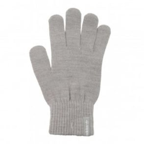 Adidas Originals Trefoil Gloves Medium Grey Heather