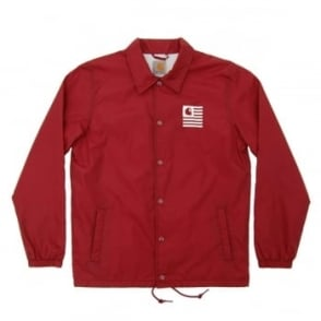 Carhartt State Coach Jacket Cordovan