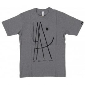 Loreak Mendian Arritmico T-SHirt Heather Grey