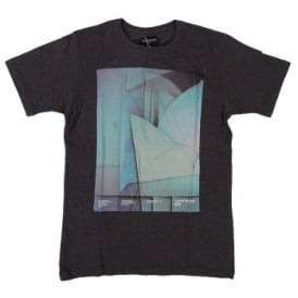 Loreak Mendian Taller T-Shirt Heather Black