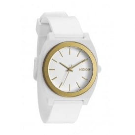 Nixon Time Teller P White Gold