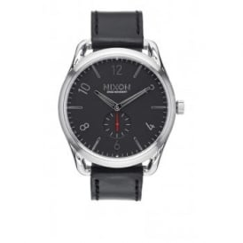 Nixon C45 Leather Black Red