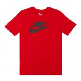 Nike Futura Icon T-Shirt University Red Black