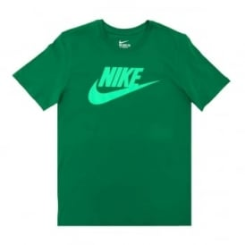 Nike Futura Icon T-Shirt Pine Green Volt