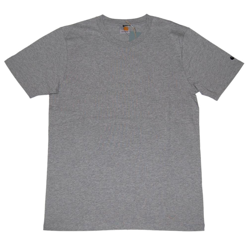 carhartt base t shirt grey heather mens t shirts from