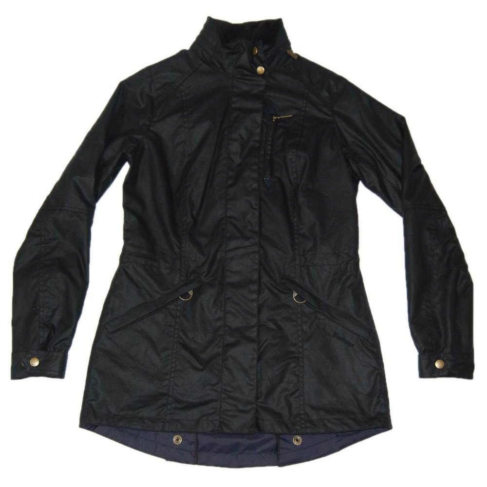Barbour Eskdale Quilted Jacket Navy Blue Womens Sale
