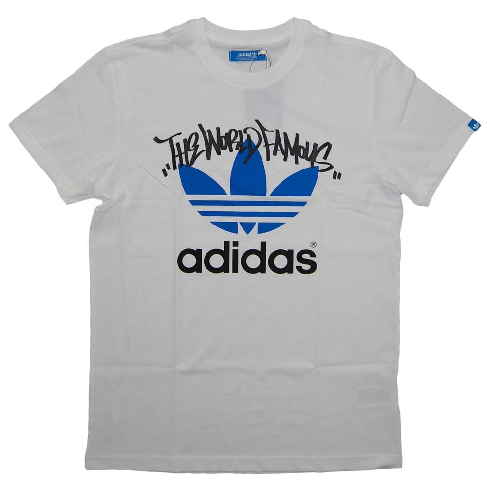 adidas originals gt tag t shirt white mens t shirts from. Black Bedroom Furniture Sets. Home Design Ideas