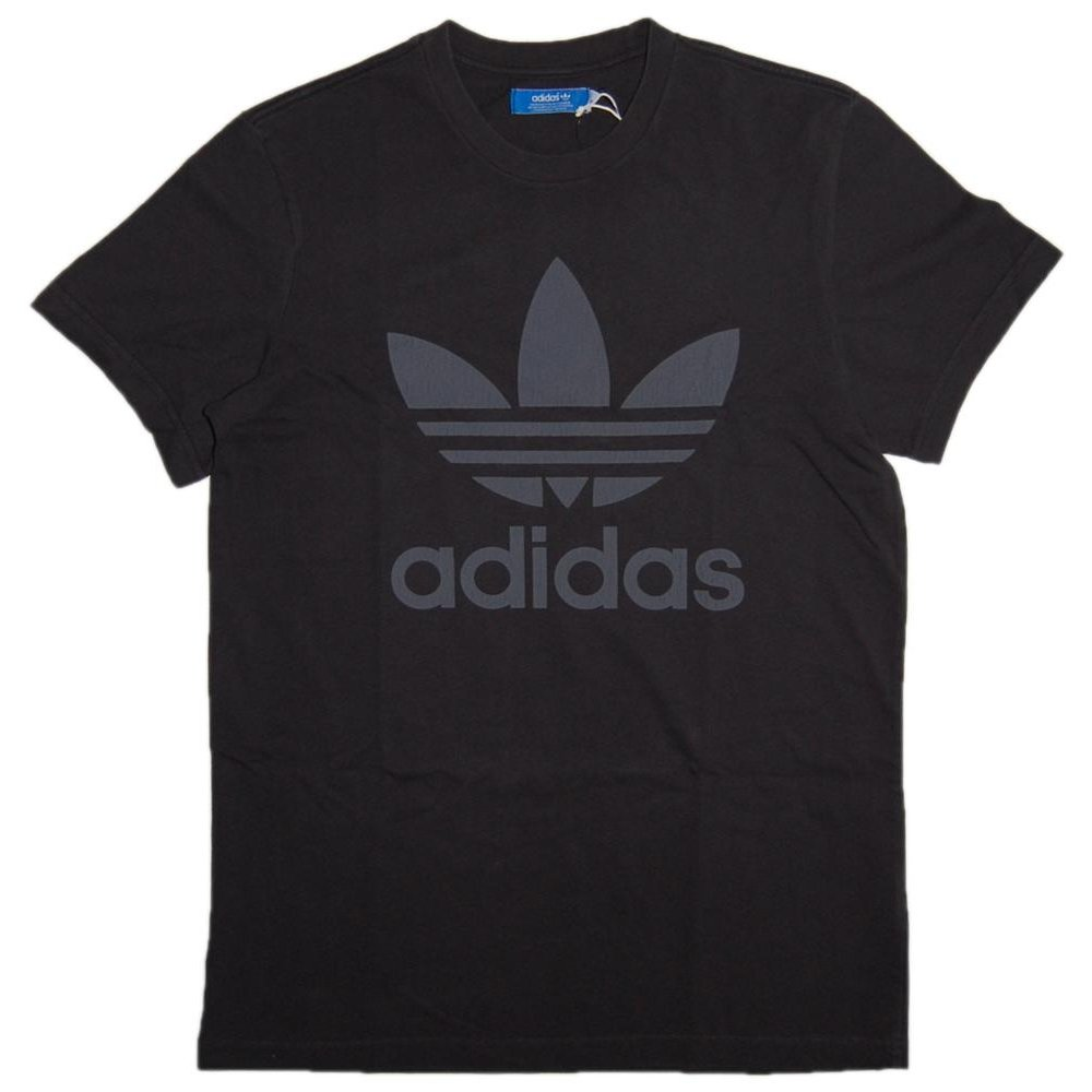 adidas originals spo t shirt black mens t shirts from attic clothing uk. Black Bedroom Furniture Sets. Home Design Ideas