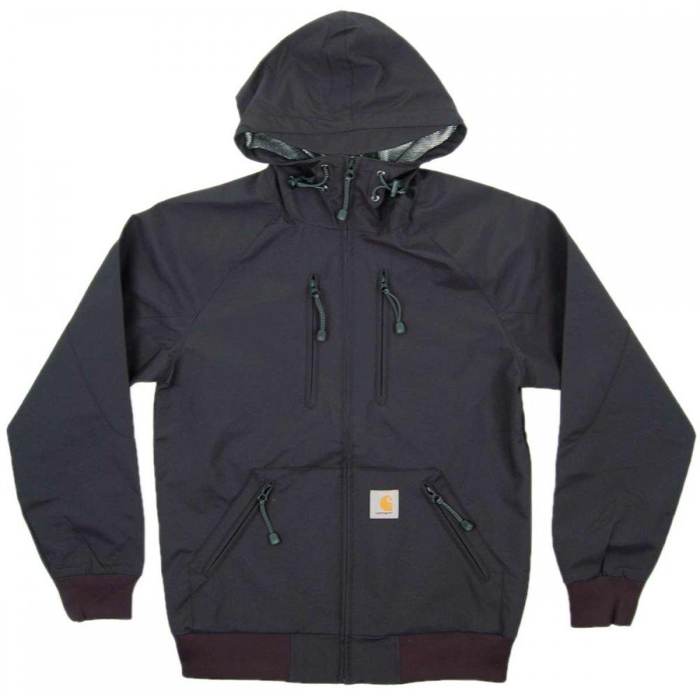 carhartt heli jacket black mens jackets from attic