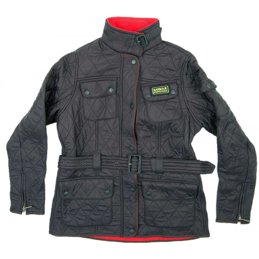 Barbour Ladies International Colour Fleece Polarquilt