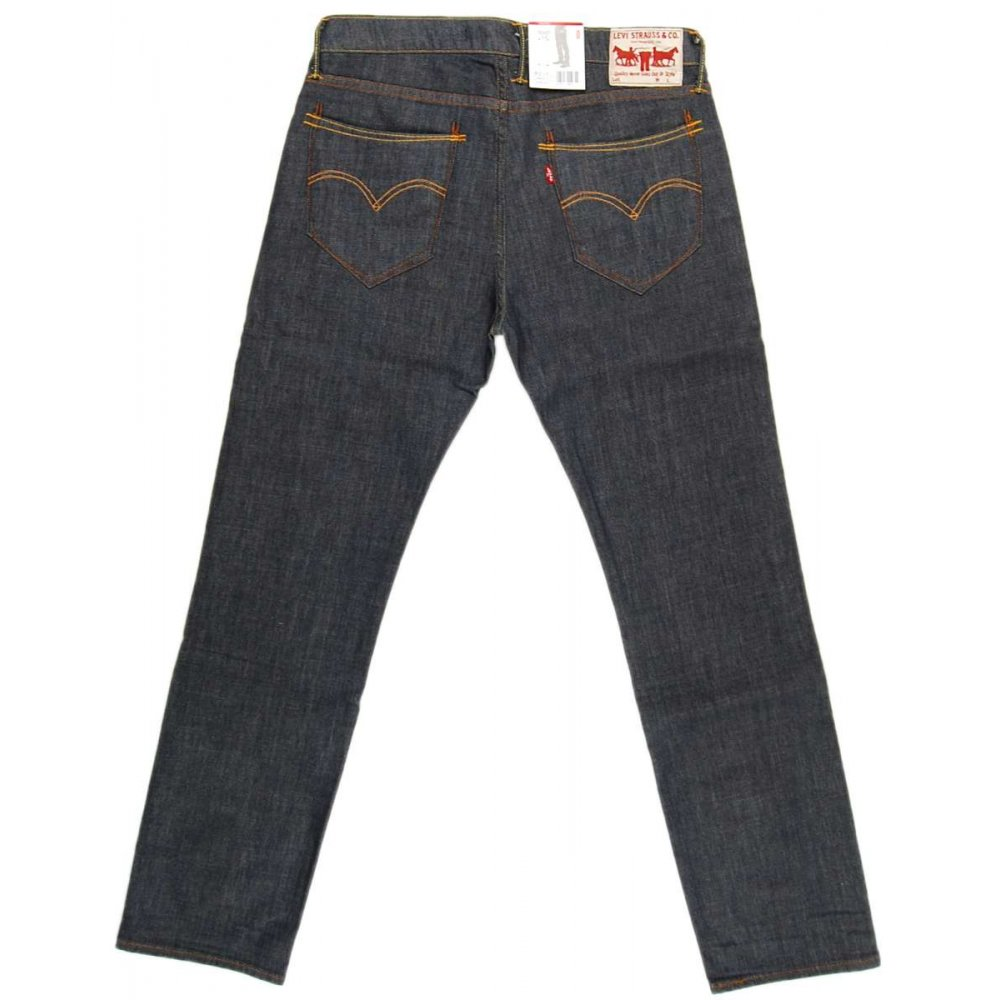 levi 39 s 504 jeans tarmac mens jeans from attic clothing uk. Black Bedroom Furniture Sets. Home Design Ideas