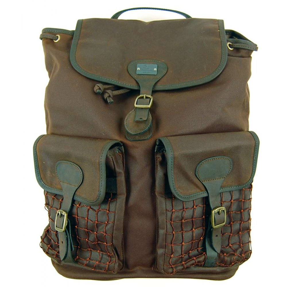 Barbour Beacon Rucksack Olive Mens Accessories From