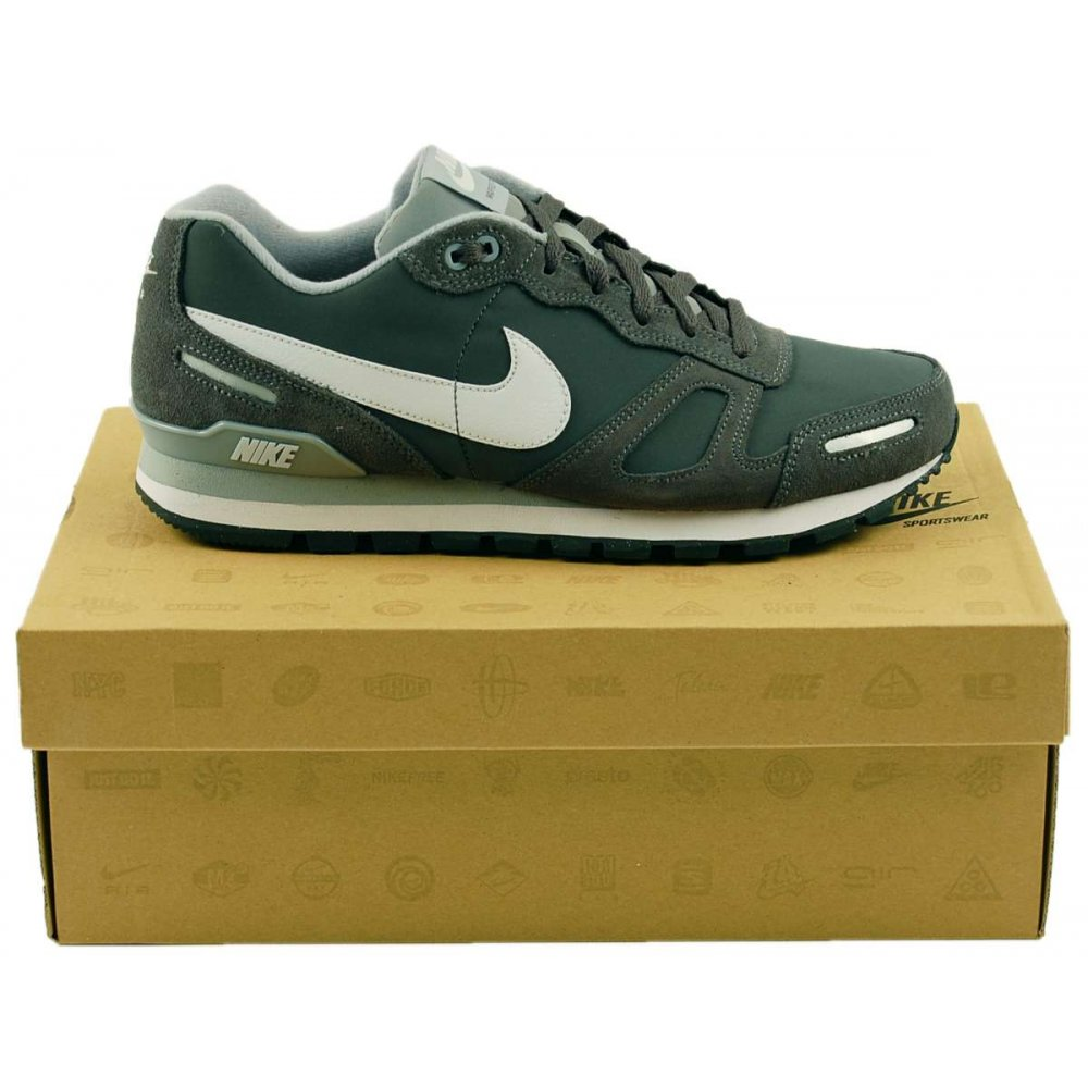 nike air waffle trainer dark grey mens shoes from attic. Black Bedroom Furniture Sets. Home Design Ideas