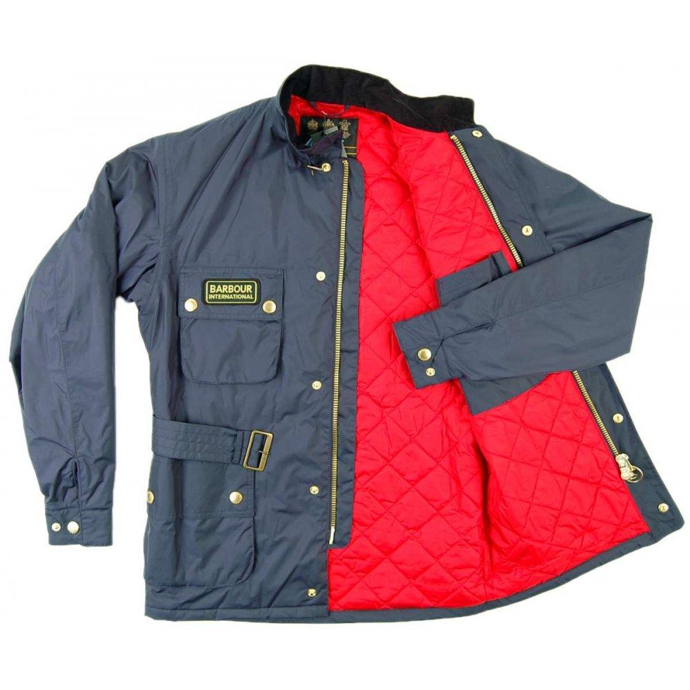 Lighting Jacket: Barbour Lightning Jacket Navy