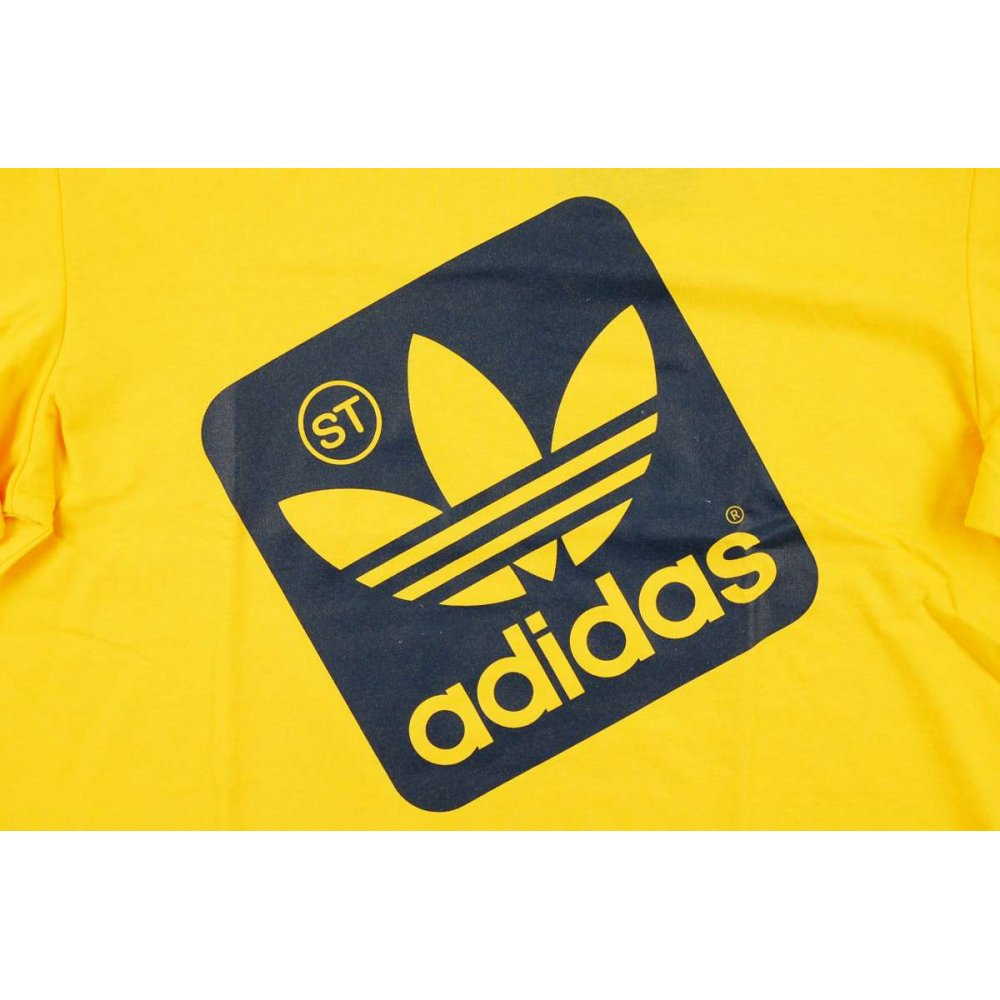 yellow adidas logo - photo #21