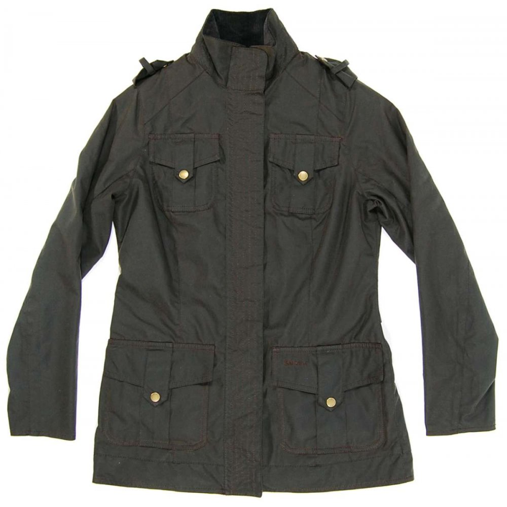 Barbour Jacket : ... Clothing ? Womens Jackets ? Barbour Ladies Defence Jacket Olive