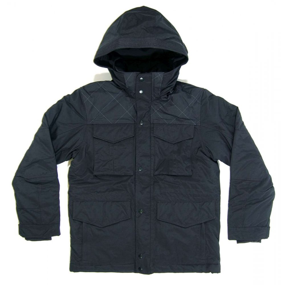 adidas originals m down jacket black mens jackets from attic clothing uk. Black Bedroom Furniture Sets. Home Design Ideas