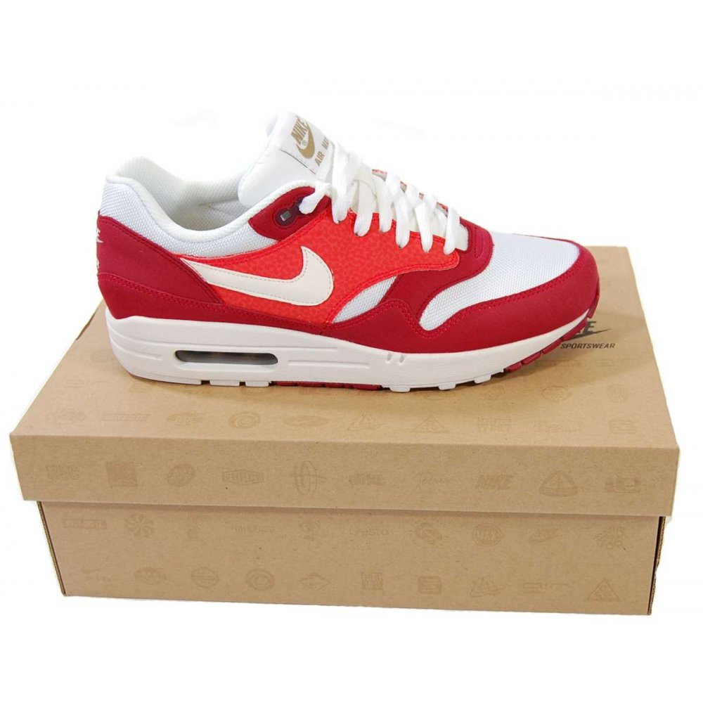 Nike Air Max 1 Hommes - Hommes S C2 Chaussures C7 Air Max 1308866 602 Legacy Rouge Whit P9435 Ventes