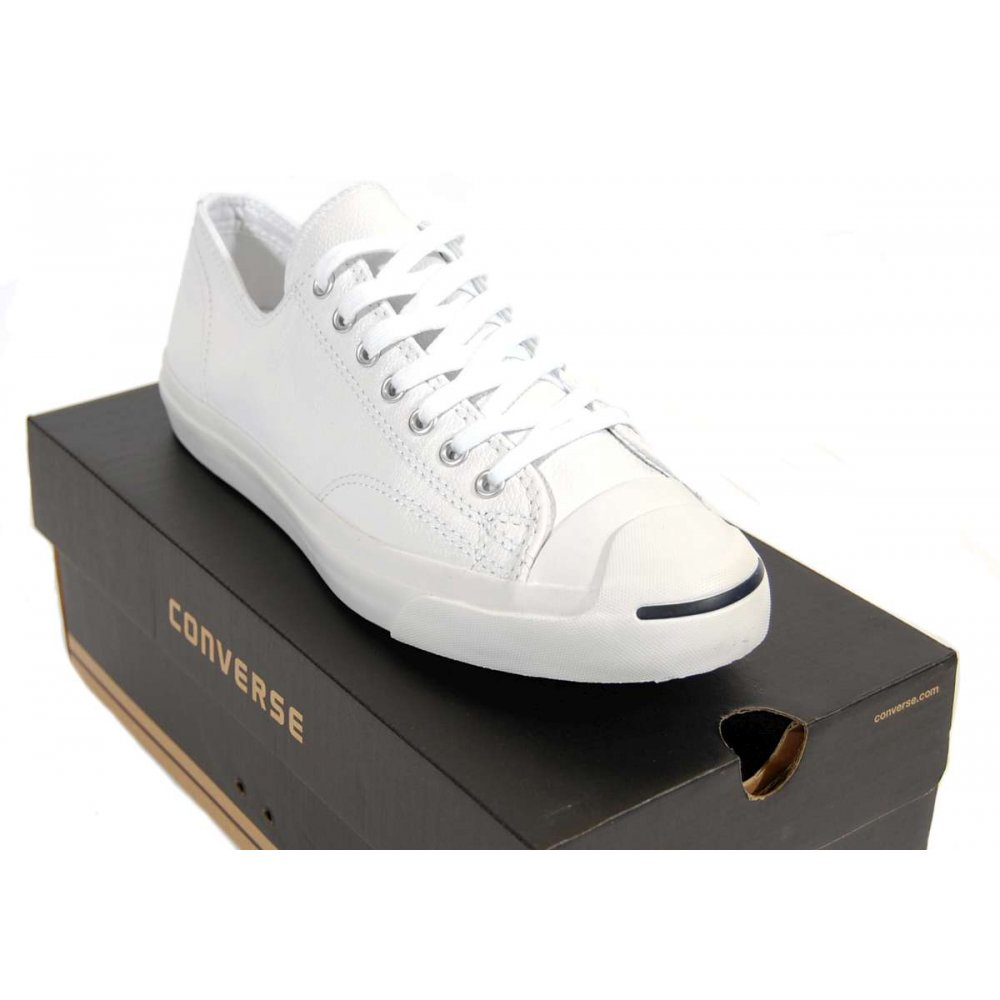 Converse Jack Purcell Leather White british-flower-delivery.co.uk b409bba38