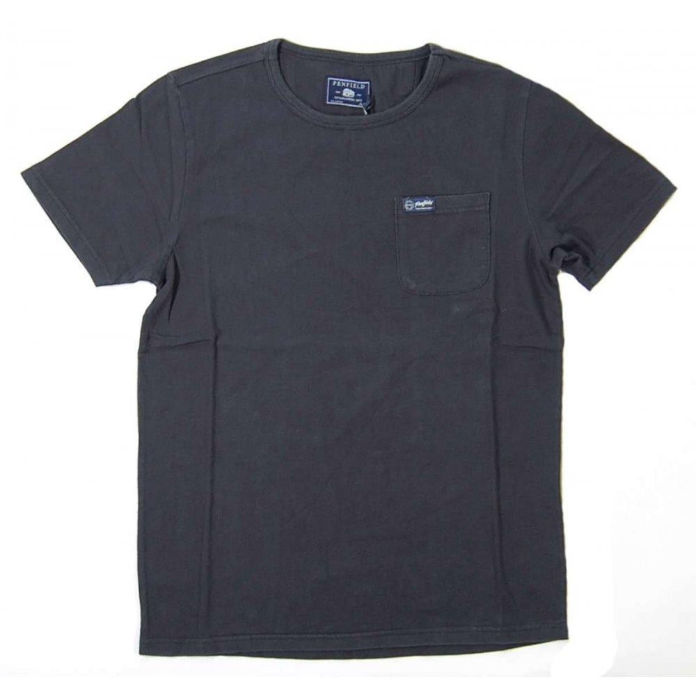 Penfield Pocket T Shirt Vintage Black Mens T Shirts From