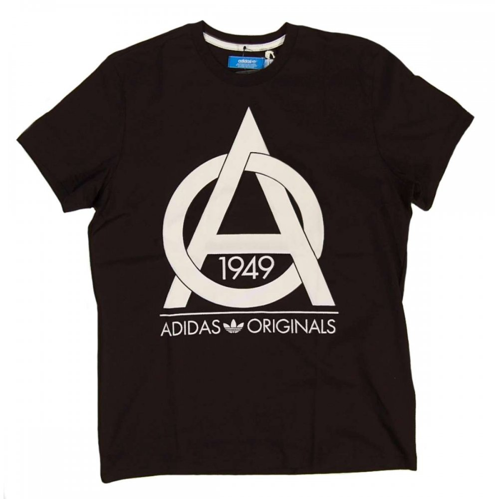 adidas originals ao t shirt black mens t shirts from. Black Bedroom Furniture Sets. Home Design Ideas