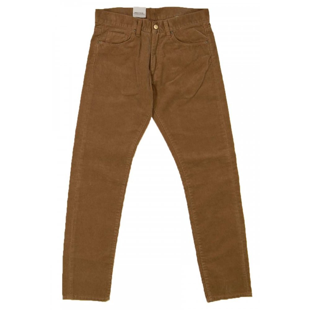 carhartt vicious pant cords seattle deer brown mens. Black Bedroom Furniture Sets. Home Design Ideas