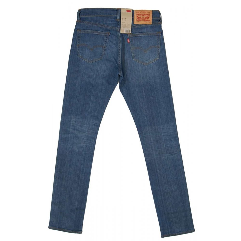 levis 510 jeans hopeful blue mens jeans from attic