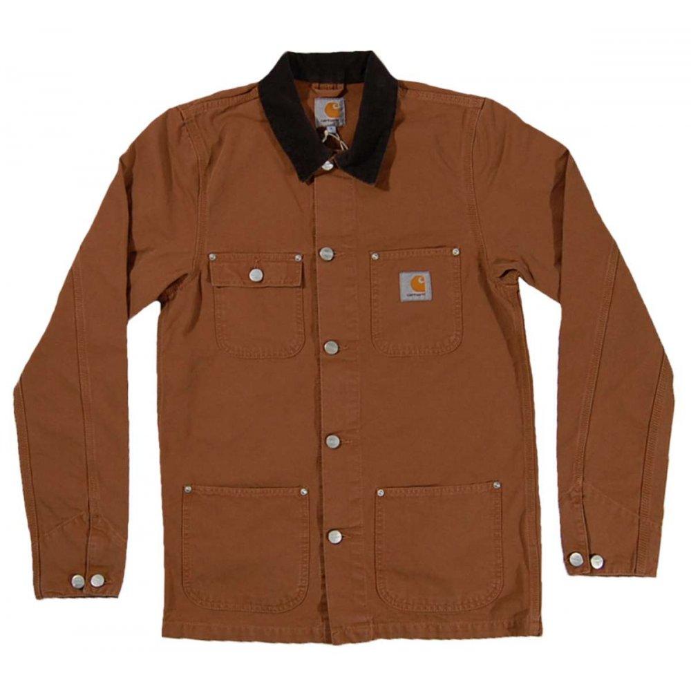 carhartt michigan coat carhartt brown mens jackets from