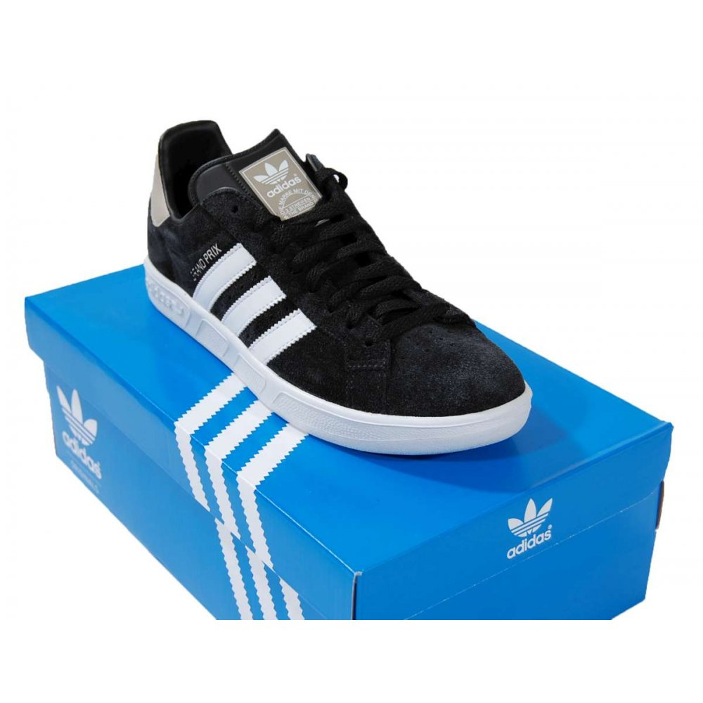 adidas originals grand prix black mens shoes from attic. Black Bedroom Furniture Sets. Home Design Ideas