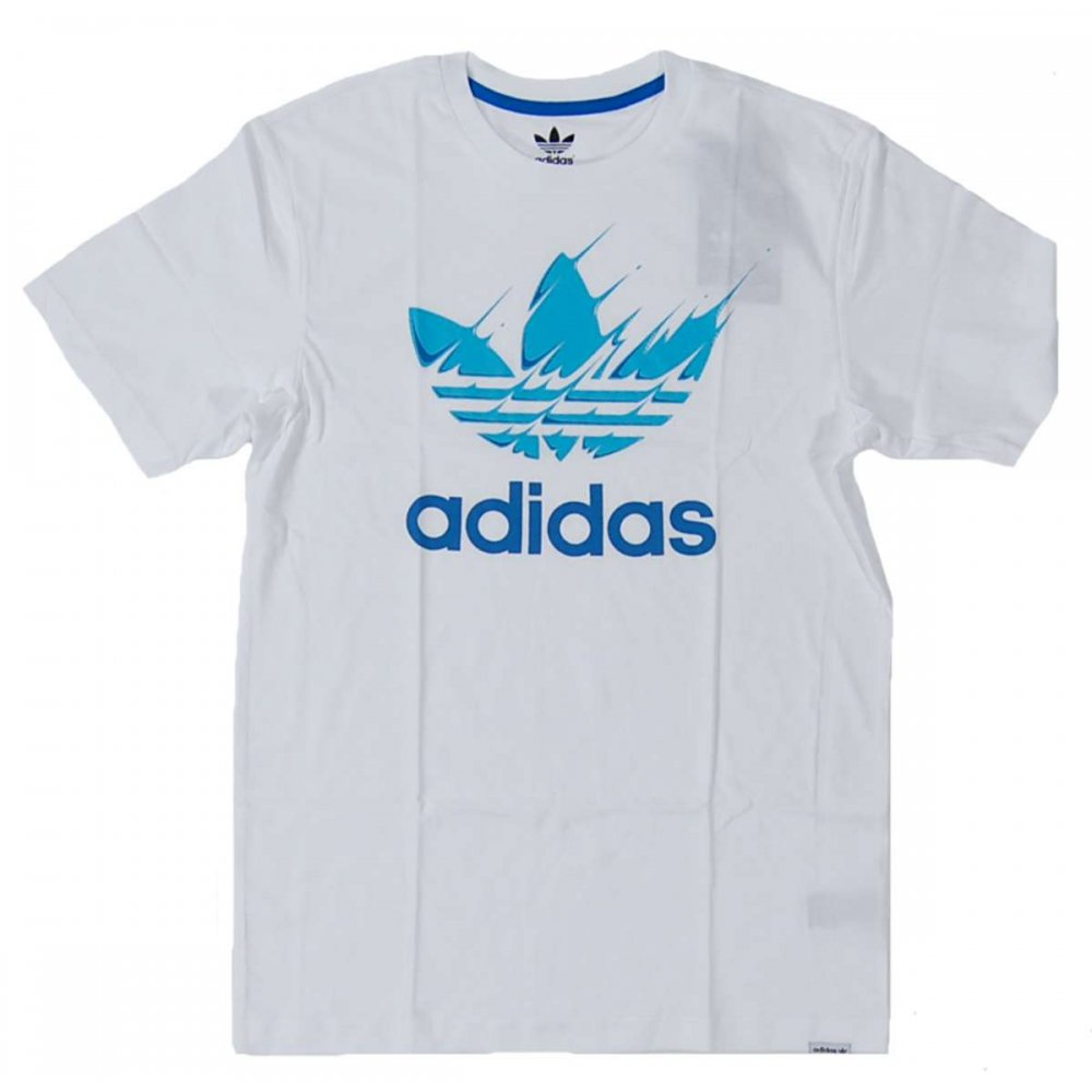 adidas originals movement t shirt white mens t shirts from attic clothing uk. Black Bedroom Furniture Sets. Home Design Ideas