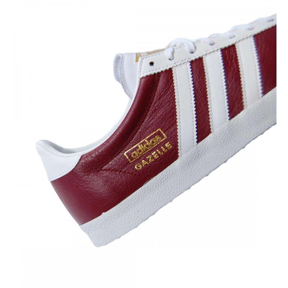 Adidas Gazelle Og Leather Red