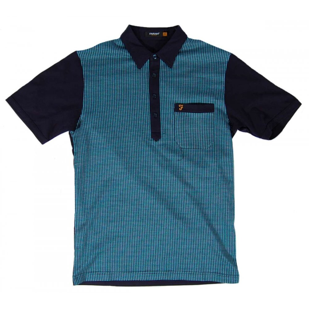farah vintage jackman polo midnight mens polos from