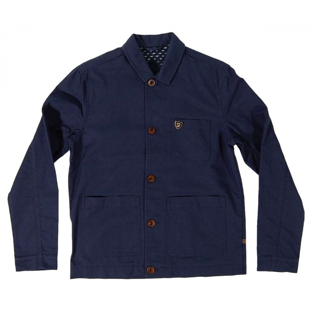 farah linden jacket indigo mens jackets from attic