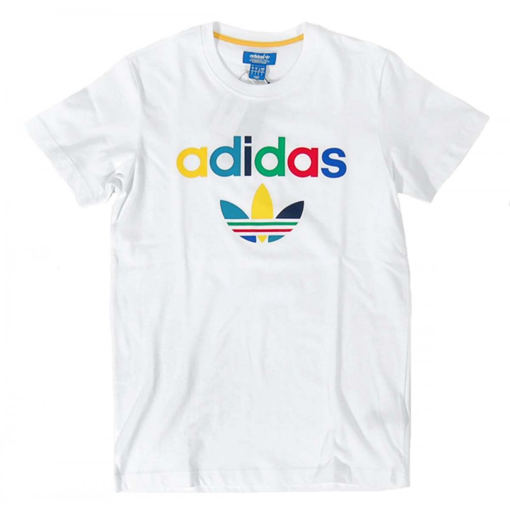 adidas originals colour oddity t shirt white mens t. Black Bedroom Furniture Sets. Home Design Ideas