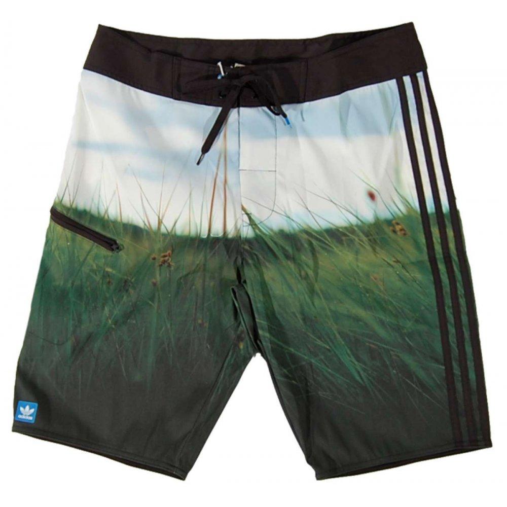 Adidas Originals Dunes Board Short Black - Mens Pants And Shorts From Attic Clothing UK
