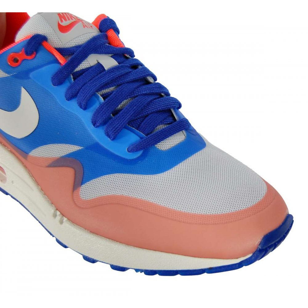 Nike Air Max 1 Hyperfuse Premium Pure Platinum - Mens Shoes from Attic Clothing UK