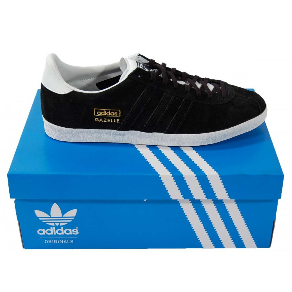Adidas Originals Gazelle Og Black Sneakers