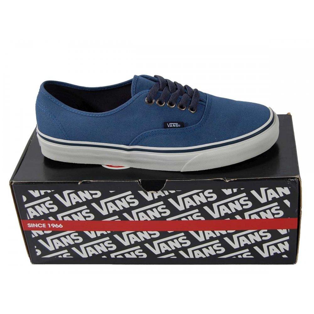 vans dark blue authentic vans