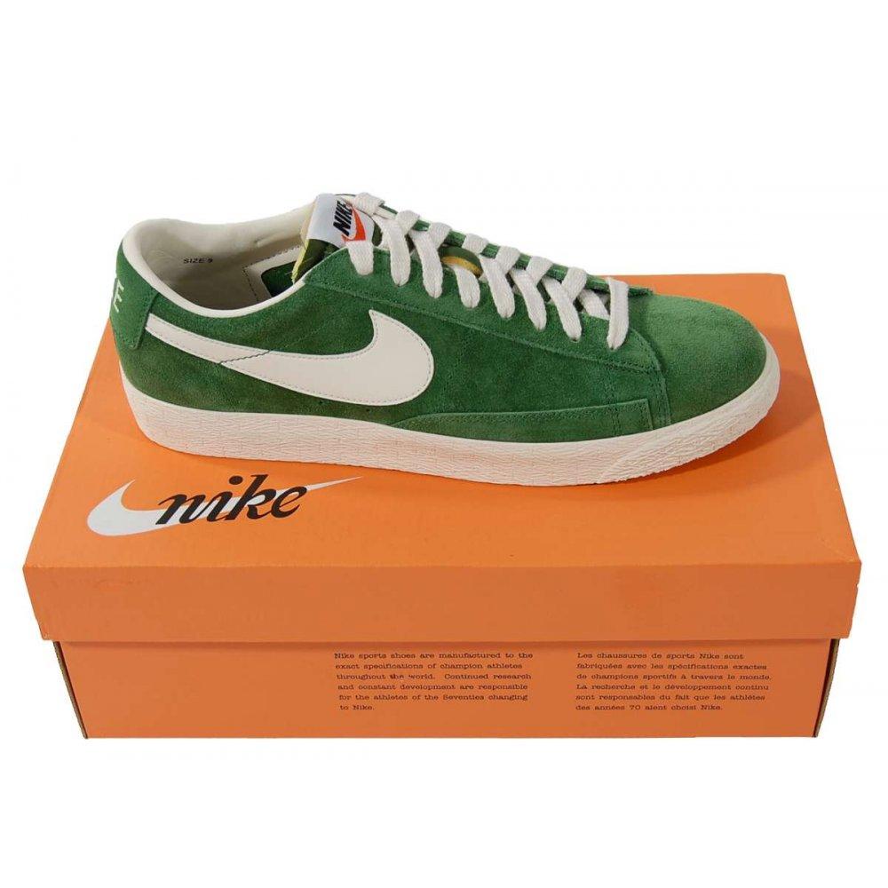 nike blazer low green