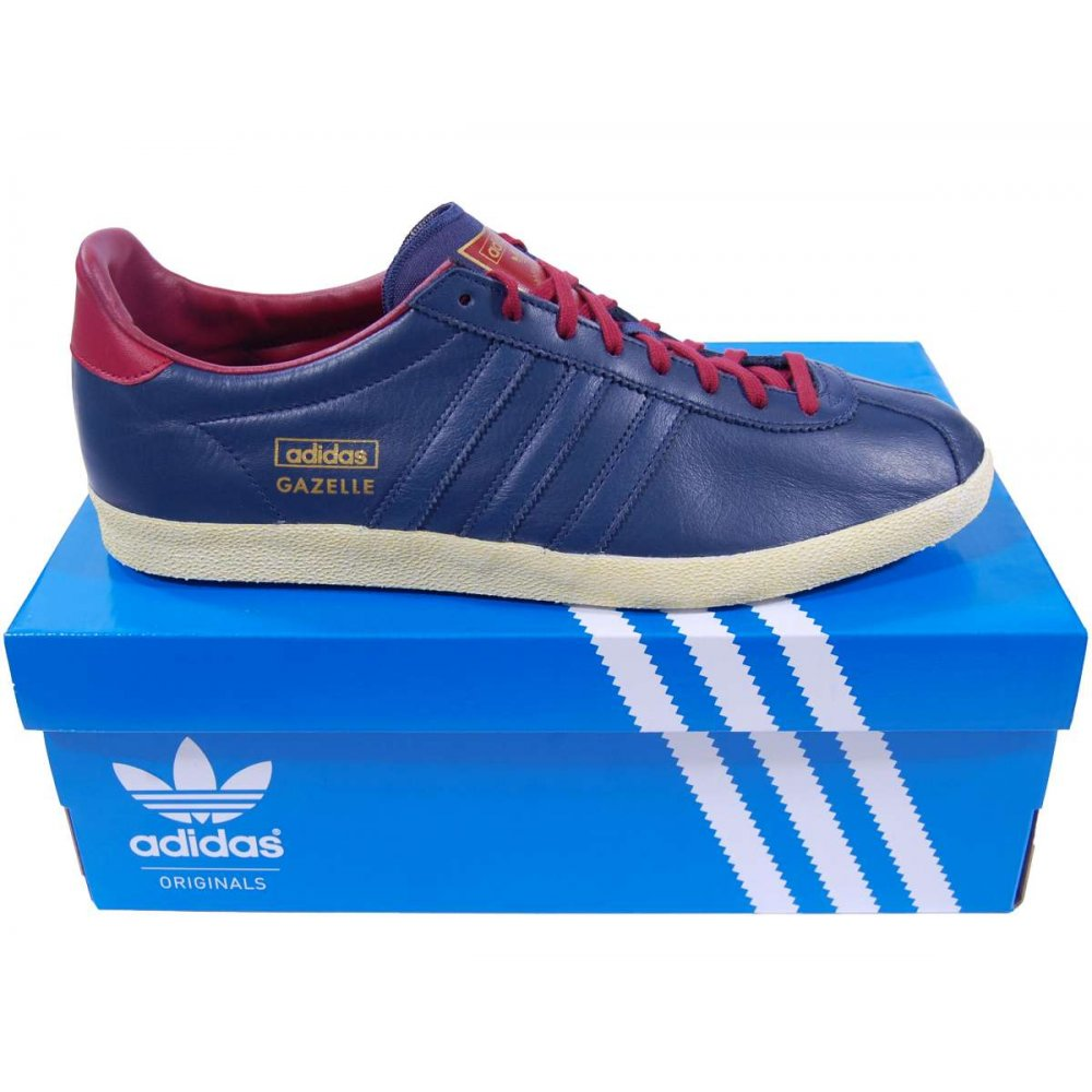 Adidas Gazelle Trainers Navy Blue