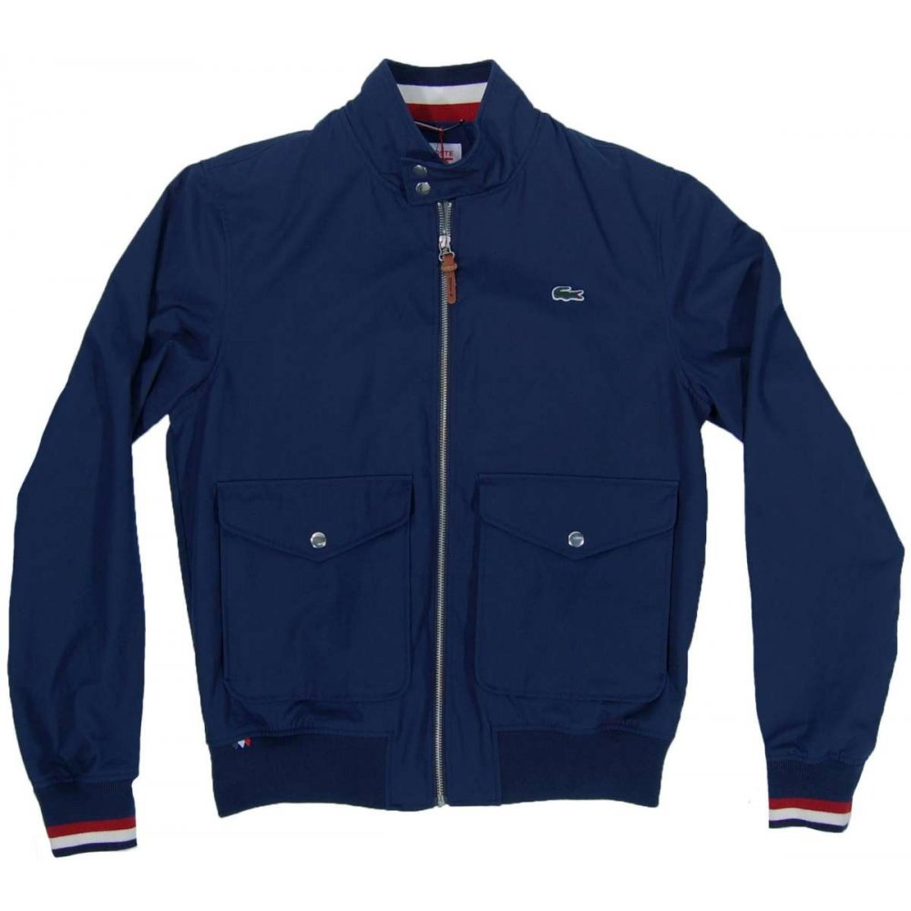 Home mens clothing mens jackets lacoste l ve bh3133 jacket