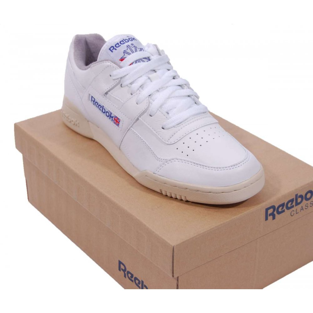 Reebok Workout Plus R12 White White - Mens Shoes From ...