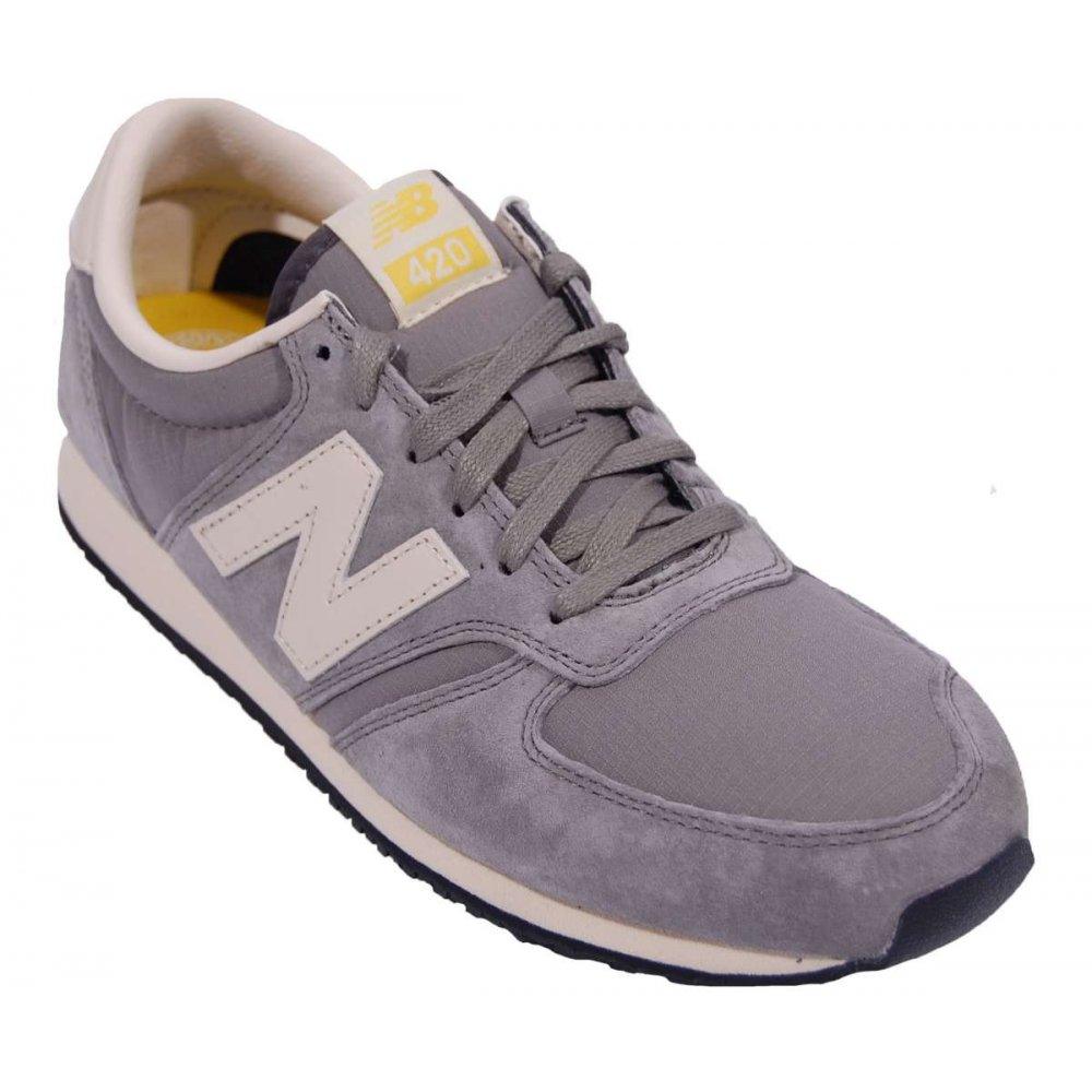 New Balance 420 Beige Navy White
