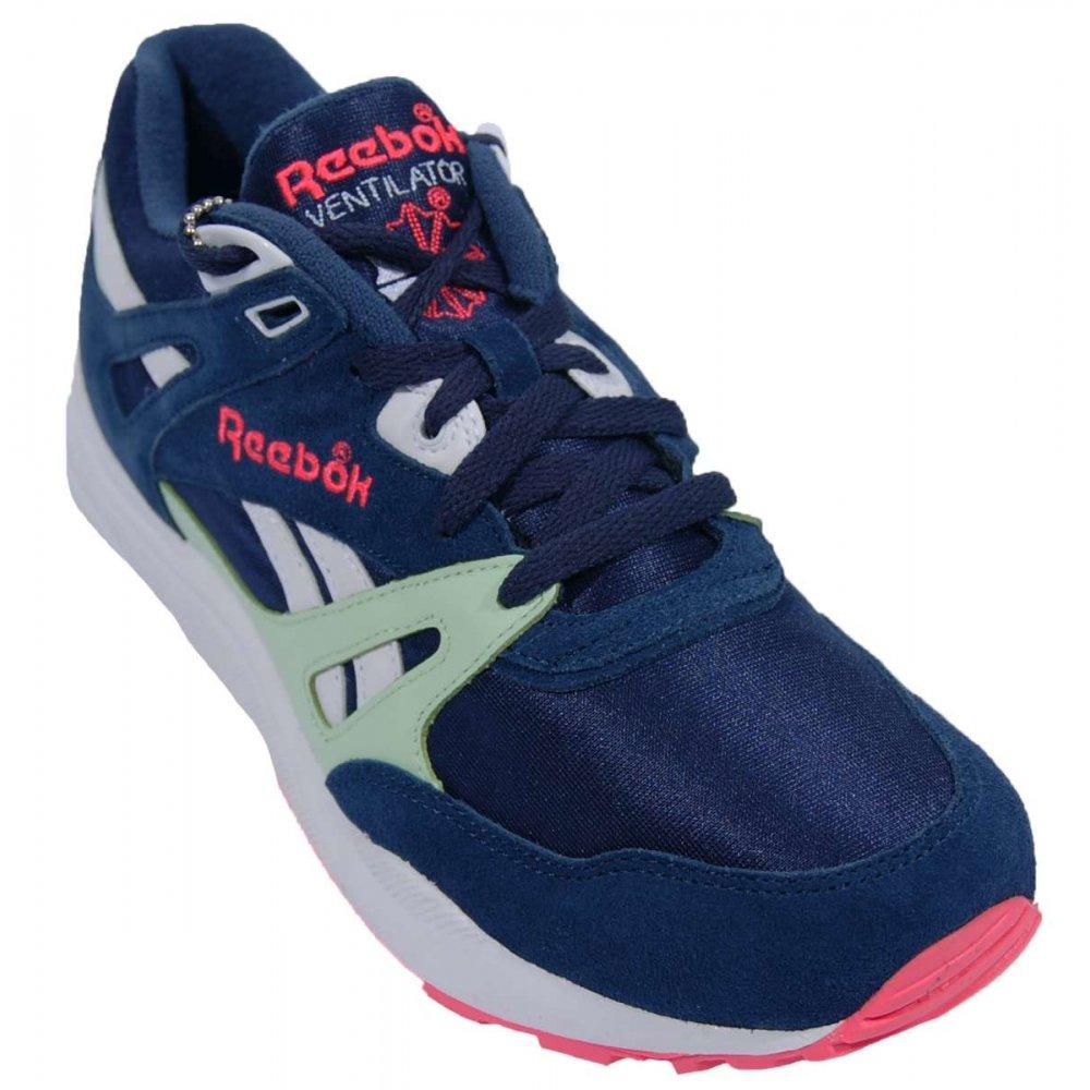 reebok ventilator atheltic navy sea glass mens shoes
