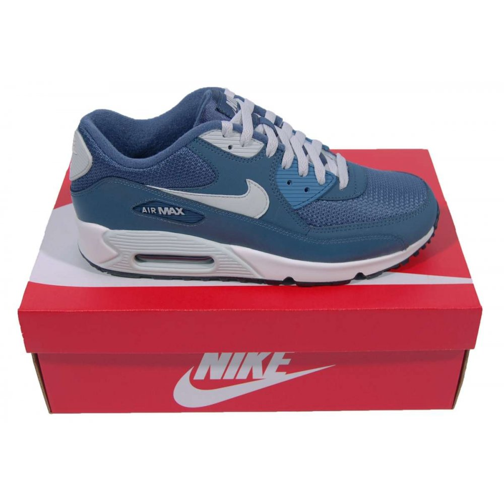 nike air max 90 essential new slate mens shoes from attic clothing uk. Black Bedroom Furniture Sets. Home Design Ideas