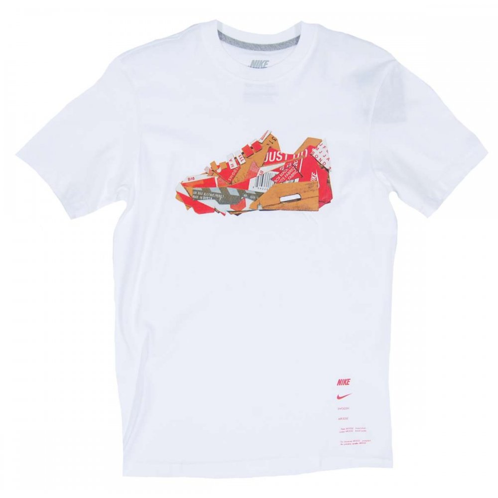 Nike Air Max Collage T Shirt White Mens T Shirts From