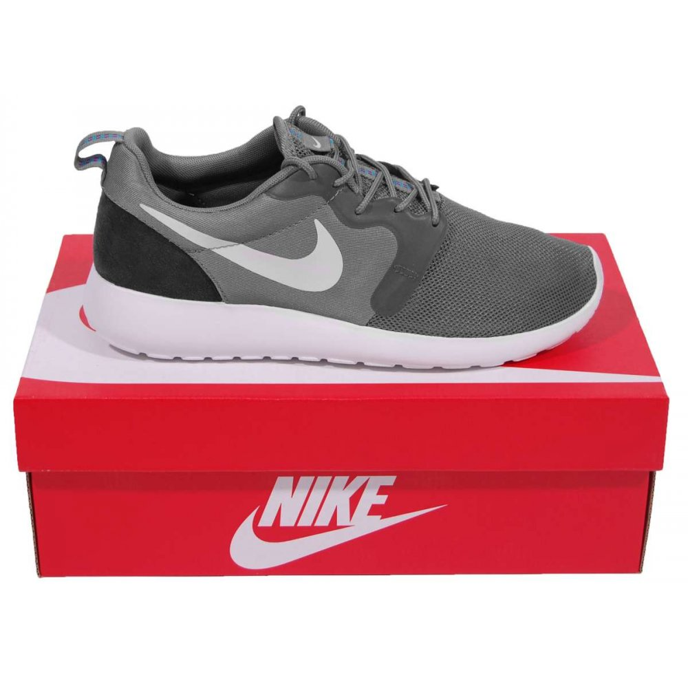 Nike Rosherun Hyperfuse Cool Grey White Mens Shoes From